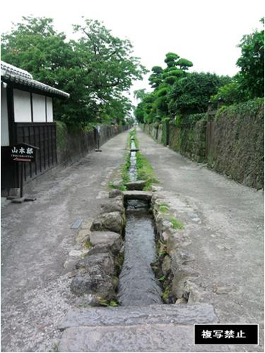 武家屋敷跡・水路