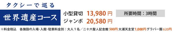 世界遺産コース_料金